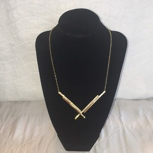 NWT CC Skye Moon Gold Beam Necklace